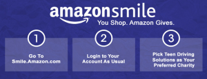 AmazonSmile Teen Driving Solutions