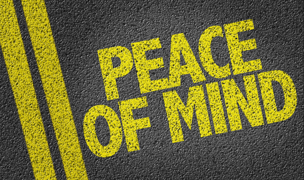 Peace of Mind for Parents - TDSS Sign